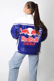 Red Bull Full Leather Motor Jacket