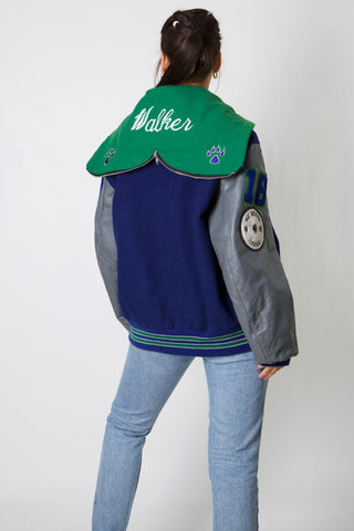 Little Rock '95 Softball Leather Varsity Jacket