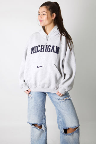 Nike Michigan Embroidery Hoodie