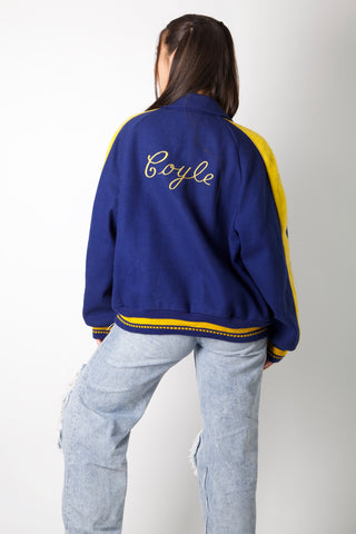 Blue Don Varsity Jacket