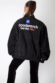 Goodwrench Service Suede Leather NASCAR Jacket