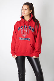Oxford University Embroidery Hoodie