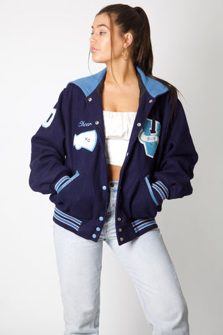 Warriors Cheer Varsity Jacket