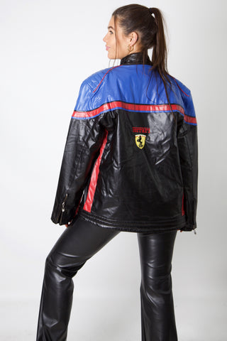 Ferrari F1 Blue Racing Jacket