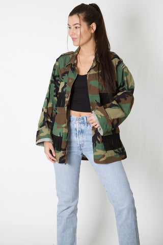 Wyoming Harley Reworked Camo Jacket