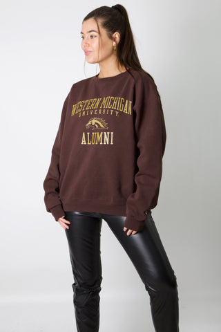 Western Michigan Uni Champion Crewneck