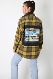 Mike's Famous Harley Reworked Flannel