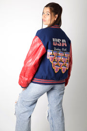 USA Hockey Club Varsity Jacket