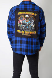 Florida Beach Rally Reworked Padded Flannel