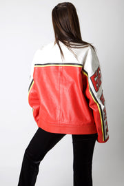Route 66 Leather Racing Jacket