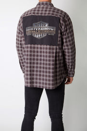 Silver Shield Logo Reworked Corduroy Flannel