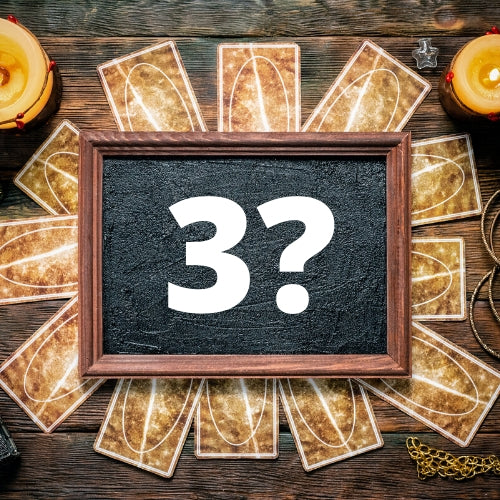 3 Burning Questions Tarot Reading (D)