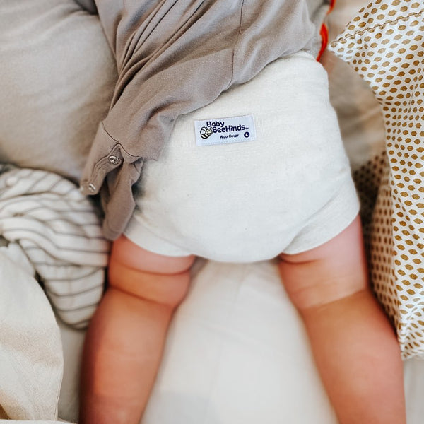 Merino Wool Nappy Cover - Tushie