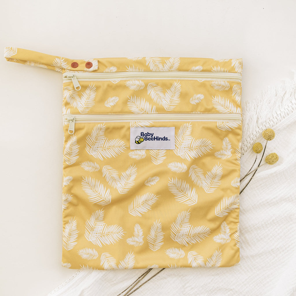 Baby Beehinds Large Double Zip Wetbag - Tushie
