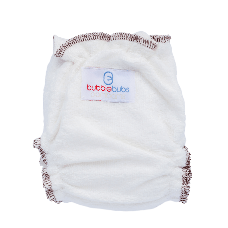 Bubblebubs Bambam Newborn Fitted Nappy - Tushie