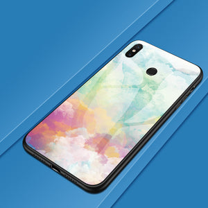 Colorful Glass Cover Phone Case For Xiaomi - iPhone-Cases.org