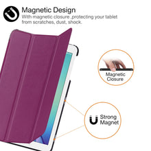 Load image into Gallery viewer, Protective Tri Fold Case For Samsung Galaxy Tab E - iPhone-Cases.org