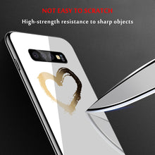 Load image into Gallery viewer, Graphics On Gradient Tempered Glass Case For Samsung Galaxy, Note - iPhone-Cases.org