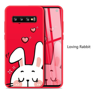 Loving Rabbit Character Case For Samsung Galaxy / Edge / Note - iPhone-Cases.org