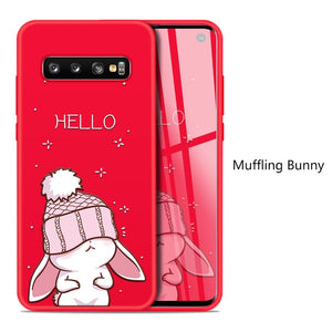 Muffling Bunny Character Case For Samsung Galaxy / Edge / Note - iPhone-Cases.org