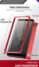 Load image into Gallery viewer, Full Protection Case With Cover Glass For Samsung Galaxy - iPhone-Cases.org