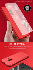 Full Protection Case With Cover Glass For Samsung Galaxy - iPhone-Cases.org