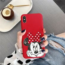 Load image into Gallery viewer, Minnie Character Favorites Soft TPU Case For iPhone - iPhone-Cases.org