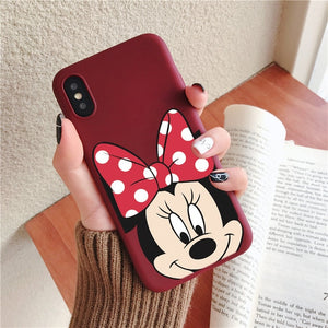 Minnie Character Favorites Soft TPU Case For iPhone - iPhone-Cases.org