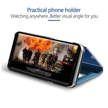Load image into Gallery viewer, Smart Mirror Flip Phone Case For Samsung Galaxy - iPhone-Cases.org