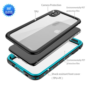 Hydro-Case Waterproof Shockproof iPhone X Case - iPhone-Cases.org