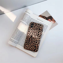 Load image into Gallery viewer, Leopard Print iPhone Silicone Case - iPhone-Cases.org