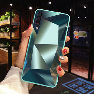 Luxury Diamond Mirror Glossy Cover For Samsung - iPhone-Cases.org