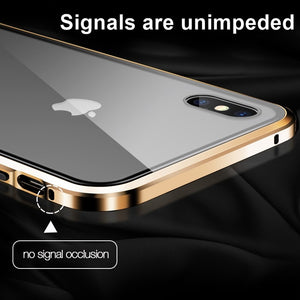 Military Grade Anti-Spy Magnetic Privacy Glass iPhone Case - iPhone-Cases.org