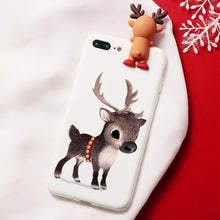 Load image into Gallery viewer, Reindeer Christmas Cartoon Characters iPhone Case - iPhone-Cases.org