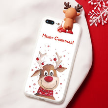 Load image into Gallery viewer, Rudolph Merry Christmas Cartoon Characters iPhone Case - iPhone-Cases.org