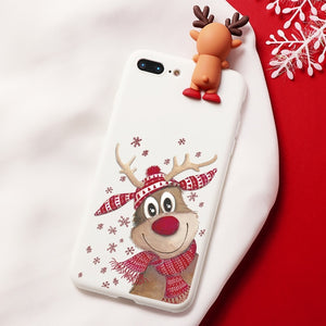 Rudolph Smile Cartoon iPhone Case - iPhone-Cases.org
