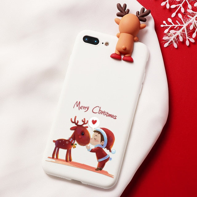 Rudolph Elf Christmas Cartoon Characters iPhone Case - iPhone-Cases.org