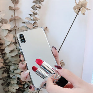 Luxury Shockproof Mirror Case For iPhone - iPhone-Cases.org