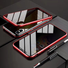 Load image into Gallery viewer, Military Grade Anti-Spy Magnetic Privacy Glass iPhone Case - iPhone-Cases.org