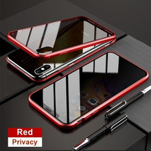 Load image into Gallery viewer, Coque 360 Magnet Antispy Cover For Iphone - iPhone-Cases.org