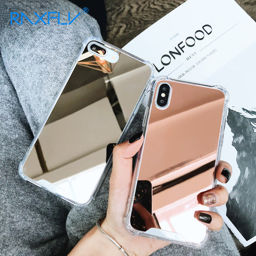 Luxury Shockproof Mirror iPhone Case - iPhone-Cases.org