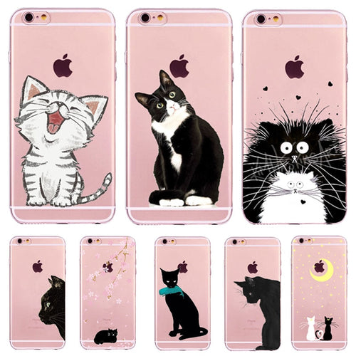 Thin Cover Kitty Phone Cases For iPhone - iPhone-Cases.org