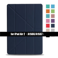 Load image into Gallery viewer, Tri Fold Flip Stand Cover - iPhone-Cases.org