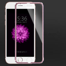Load image into Gallery viewer, 3D Titanium Edge Tempered Glass For iPhone 5 to 8 - iPhone-Cases.org