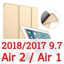 Load image into Gallery viewer, Pu Leather Smart Case for iPad 6th generation Case - iPhone-Cases.org