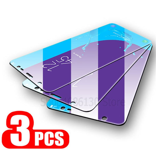 3Pcs Protective Tempered Glass for Samsung Galaxy Phones A and J - iPhone-Cases.org