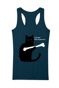 Scoop Neck Cat Print Camis