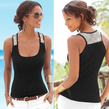 Load image into Gallery viewer, Round Neck Sleeveless Casual Vest