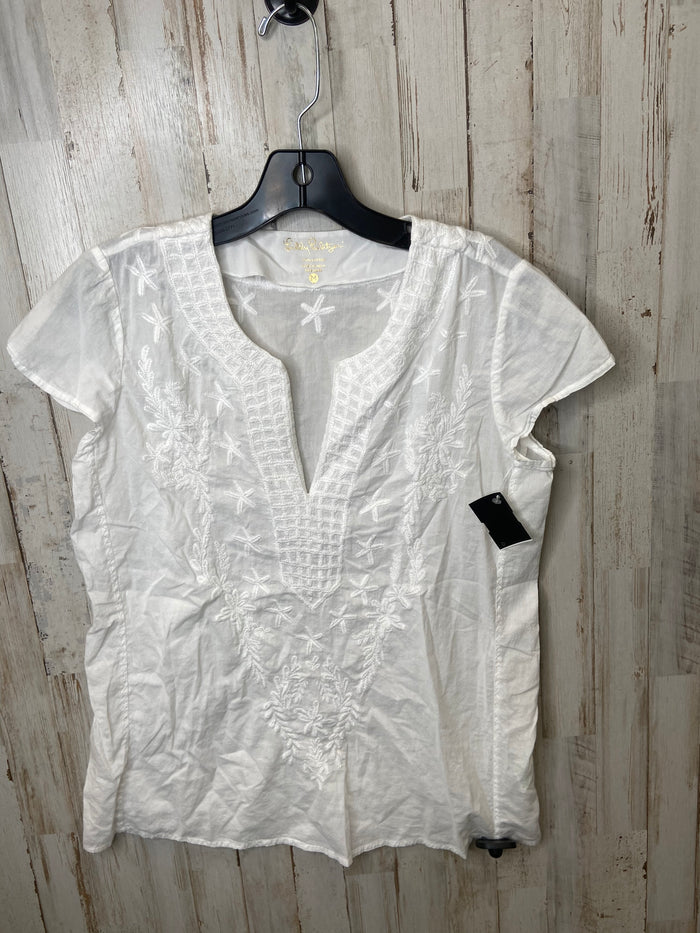 Top Short Sleeve By Lilly Pulitzer  Size: M