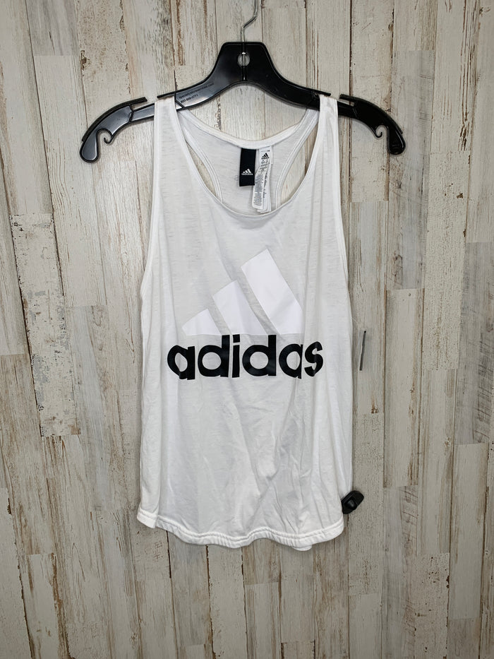 Athletic Tank Top By Adidas  Size: Xs